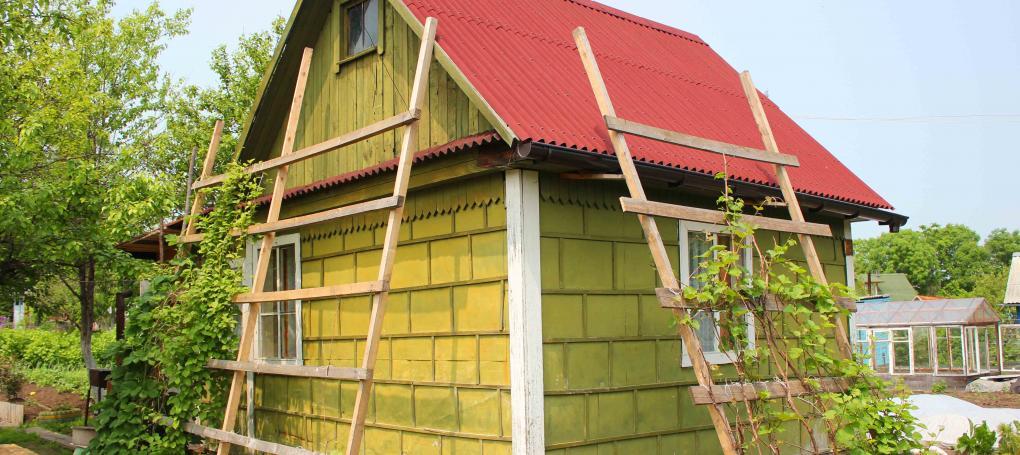 Onduline garden annexe roofing material
