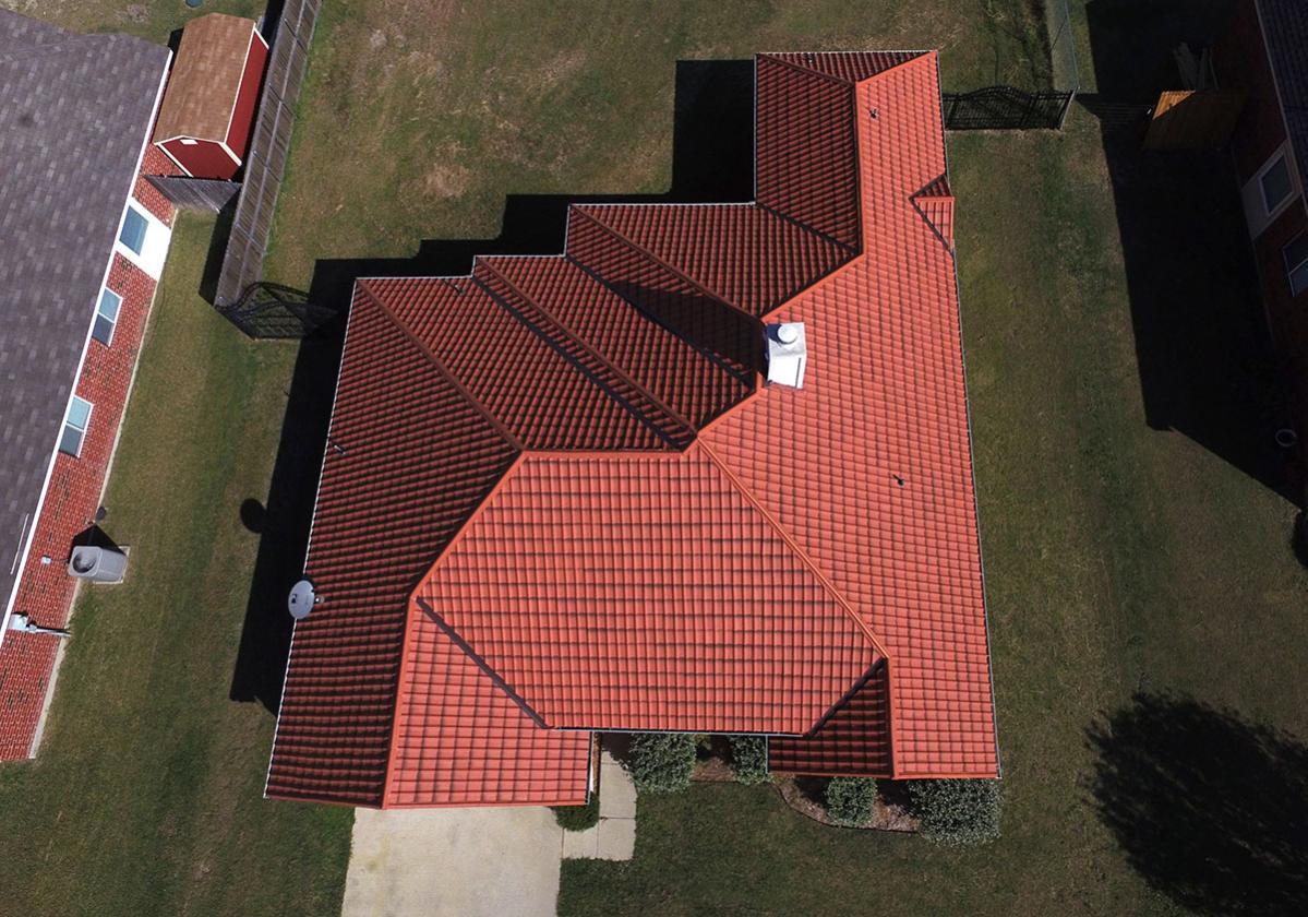 Krov sa terakota Onduvilla pločama
