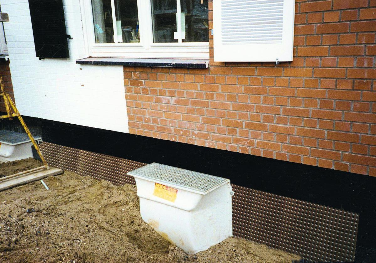 Čepasta membrana Fondaline na temeljima kuće