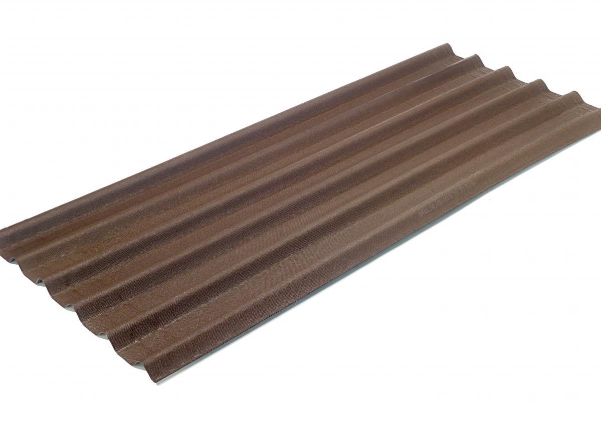 Onduline Easyfix Intense Brown Sheet Packshot