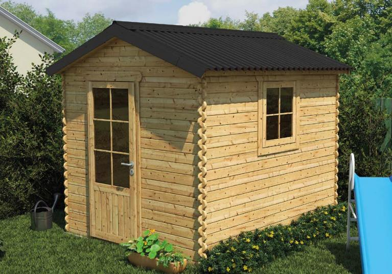 Onduline Base Black shed